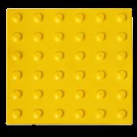 Тактильная плитка ПВХ «Конусообразный риф» (линейный порядок)