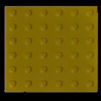 Тактильная плитка ТПУ «Конусообразный риф» (линейный порядок)