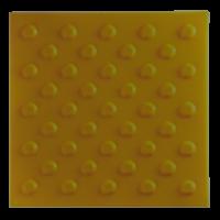 Тактильная плитка ТПУ «Конусообразный риф» (шахматный порядок)