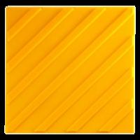 Тактильная плитка ПВХ «Диагональный риф»