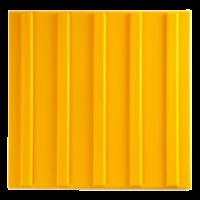 Тактильная плитка ПВХ «Продольный риф»